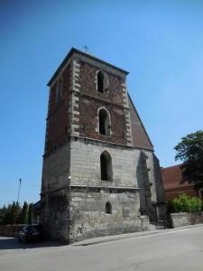 Dzwonnica obok kolegiaty