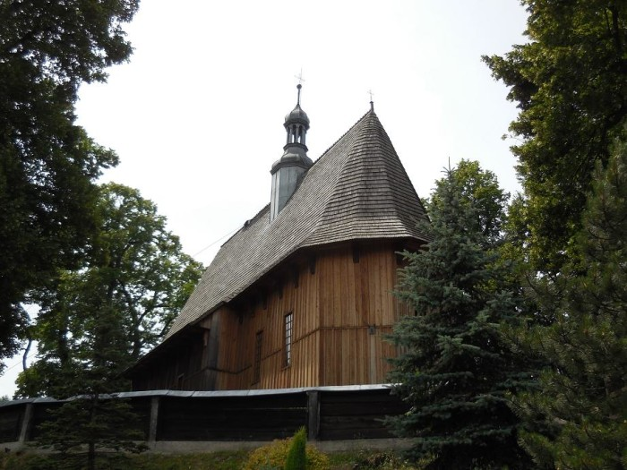 Kościół w Racławicach koło Olkusza