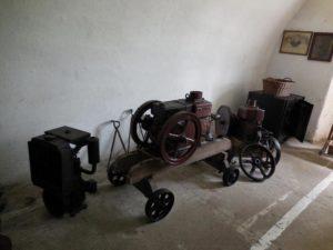 Fragment ekspozycji wewnątrz fortu